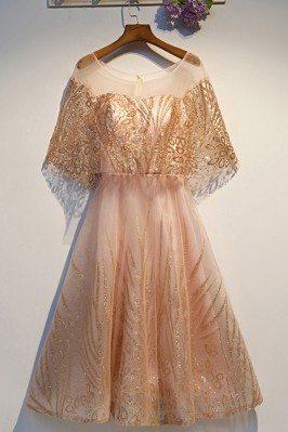 Sparkly Gold Sequins Short...