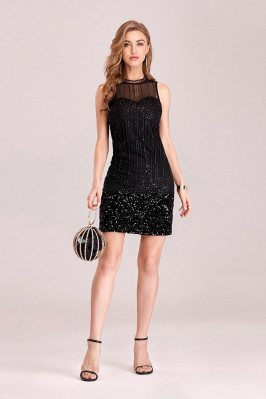 Little Black Sequins...