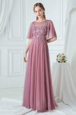 Purple Elegant Long...