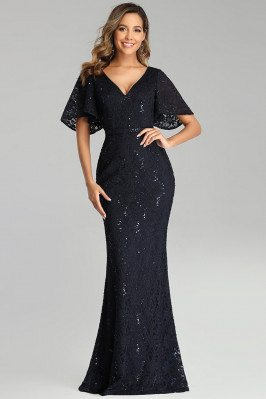 Navy Blue Lace Mermaid...