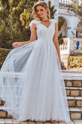 Gorgeous Double Vneck Lace...