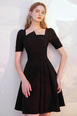 Modest Little Black Dress...