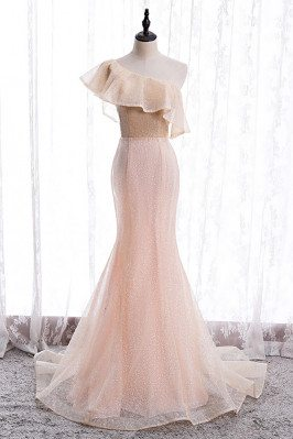 Pink Bling Mesh Formal...