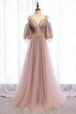 Fairy Long Tulle Prom Dress...