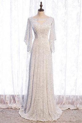 Goddess White Sequins...
