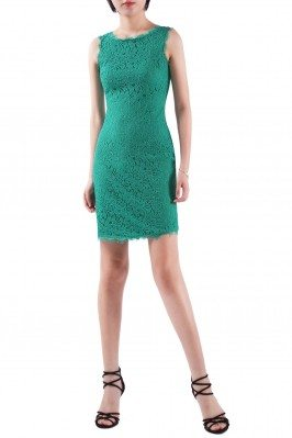 Women's Green Round Neck...