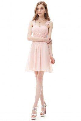 Pink Elegant Ruffles Padded...