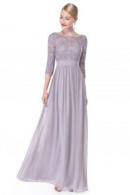 Elegant Grey 3/4 Sleeve...