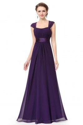 Dark Purple Chiffon Square...