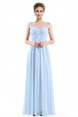 Elegant Womans Lace Sleeve Pleated Evening Dress sch699