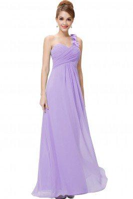 Top Designer One Shoulder Yellow Long Evening Dresses scx869