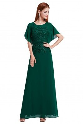 Women's Green Lace Chiffon...