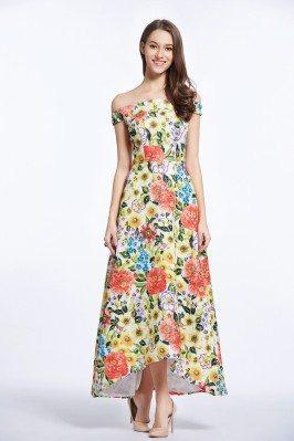 Floral Off Shoulder...
