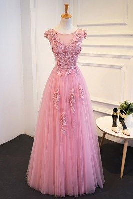 Gorgeous Pink Beaded Lace...