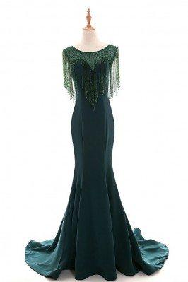 Classy Dark Green Long...