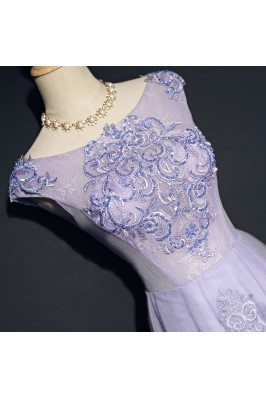 Expensive One Shoulder Elegant Blue Fall Party Dresses for Ladies sci156