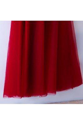Romantic White Pretty Lace Semi Fomral Dresses for Weddings sch885