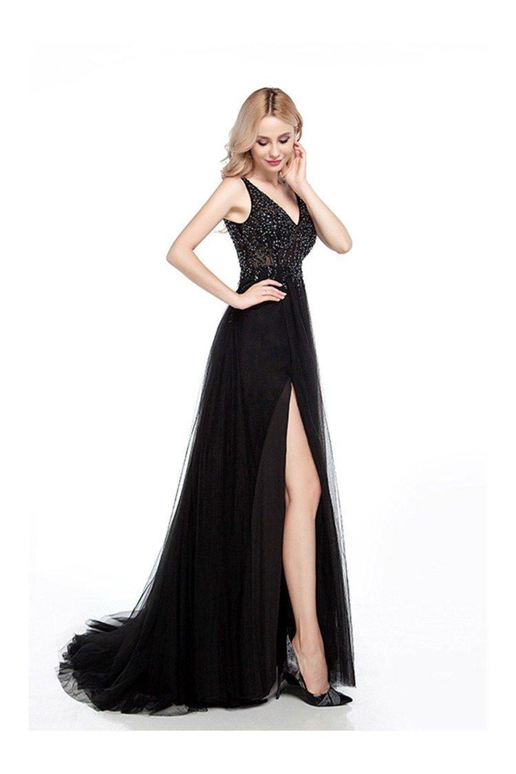 Tight Black Cocktail Dress