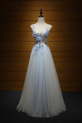 2018 Elegant Tulle Evening...