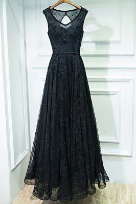 Formal Long Black Lace...