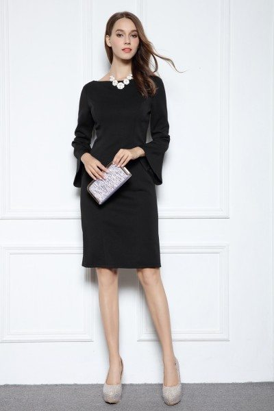 Little Black Fashion Short Dress