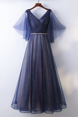 Beautiful Flowy Navy Blue...