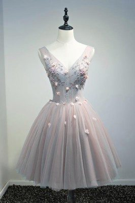 Unique Vintage Short Tulle...