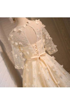 Gorgeous Light Pink Young Ladies Long Formal Party Dress scj023