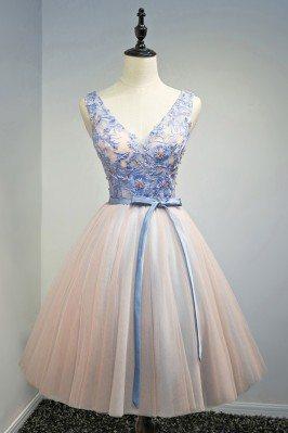 Unique Blue With Pink Short...