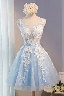 Gorgeous White With Blue...