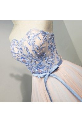 Floor Length Perfect Cream Evening Dress for Women sha781