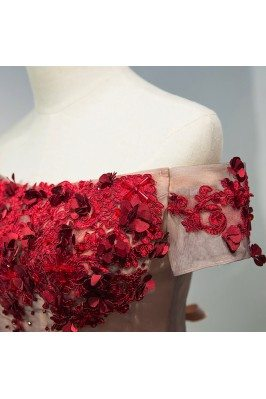 Hot Seller Unique Pattern Cap Sleeves Special Evening Dress sha760