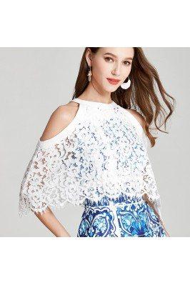 Designer White Empire Waist Formal Banquet Gown Online scj295