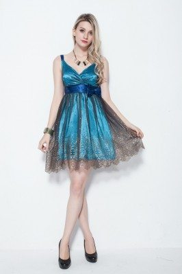 Short Tulle Prom Homecoming Dress Onsale