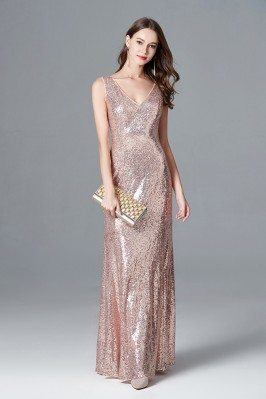 Sparkly Rose Gold Sequin...