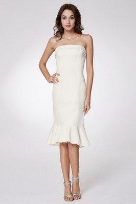Apricot Short Front Pleated Chiffon Wedding Party Dresses shd156