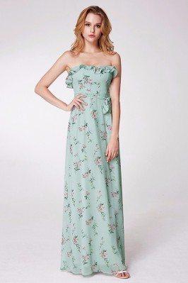 Floral Print Mint Green...