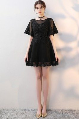 Little Black Aline Lace...