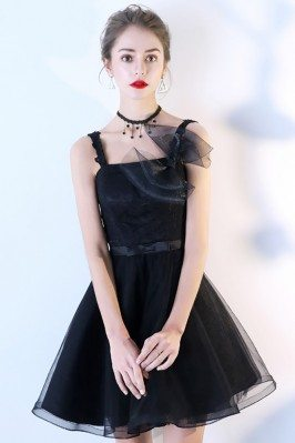 Short Tulle Black...