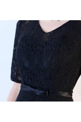 Cap Sleeve Lace Casual Formal Dresses to Wear to a Wedding sch866