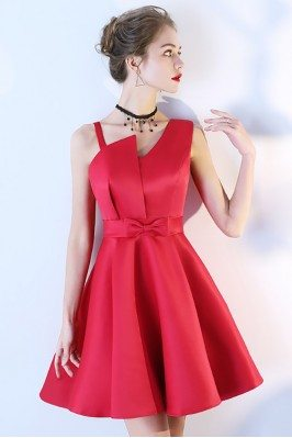 Unique Pink Floral Petal Sleeves Evening Dresses for Women sch863