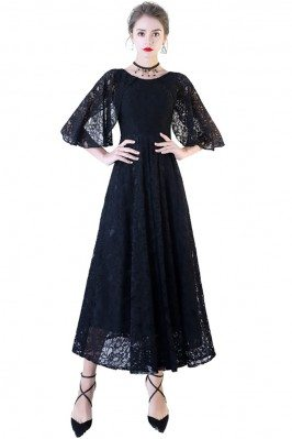 Black Lace Maxi Formal...