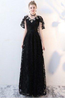 Black Lace Empire Long...