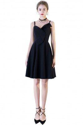 Simple Chic Black Short...