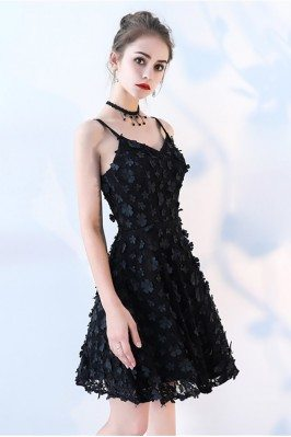Designer Inspired Two Pieces Black And Red Party Dress CK389