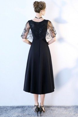 Elegant Floral Prints Short Summer Wedding Party Dress DK266