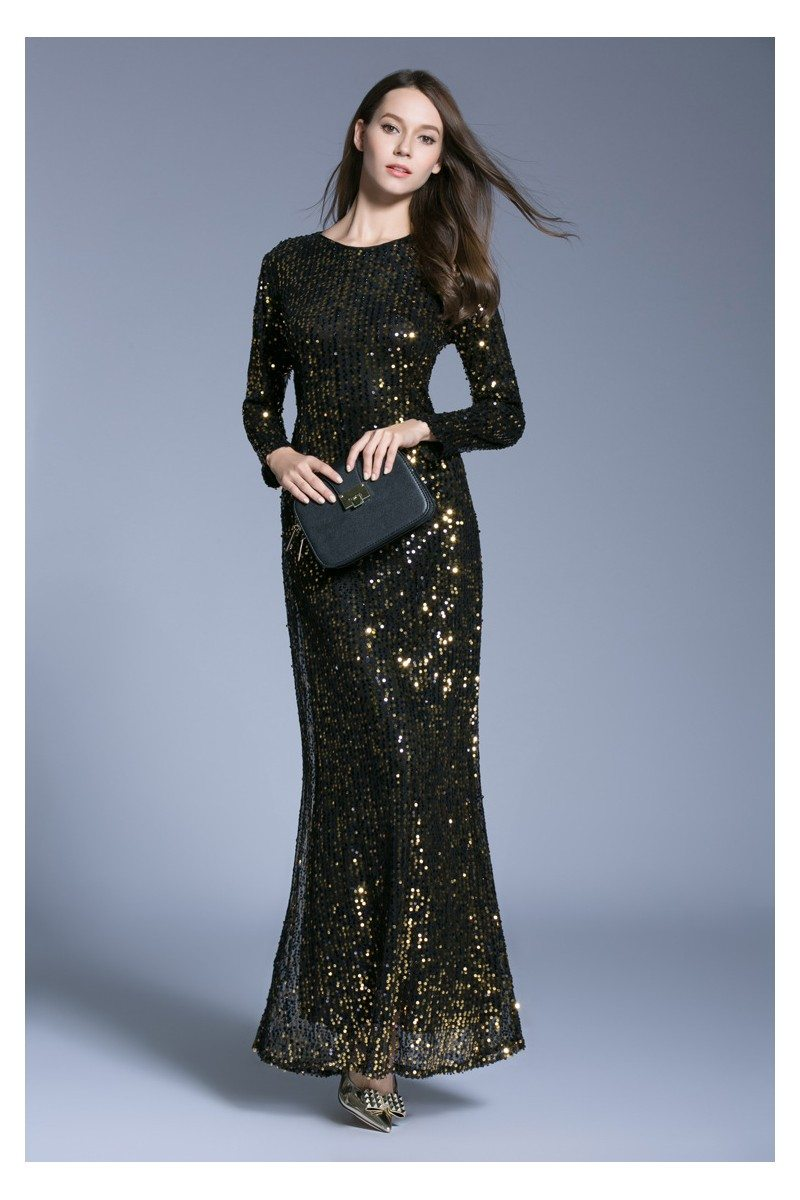 cd9238efd585 Sequin Evening Wear Dresses