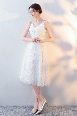 White Lace Feather Tea...