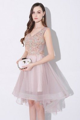 Gorgeous Tulle V-neck...