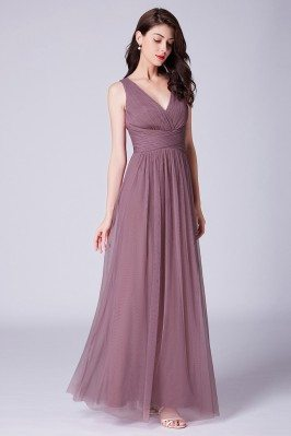 Pinkish Purple Pleated...